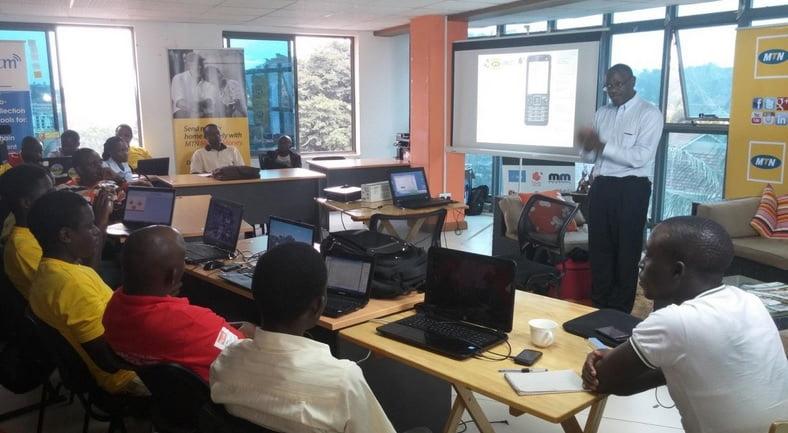 VascoDe workshop in Uganda