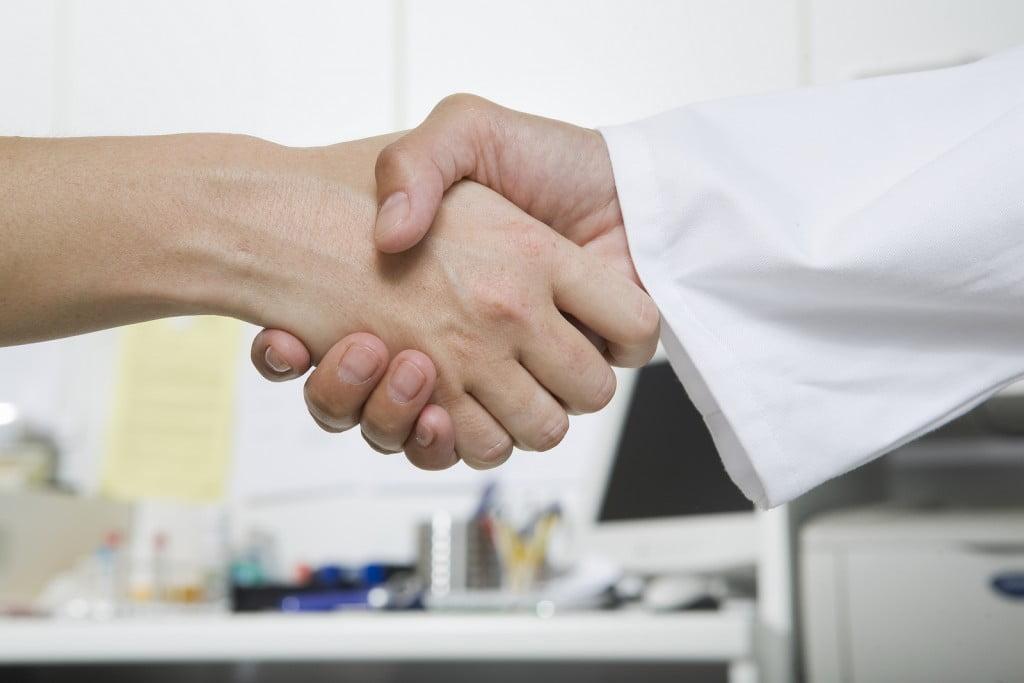 Handshake. Bigstock