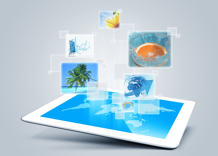 Tourism technologies iPad