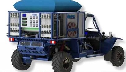 GAL's desalination vehicle