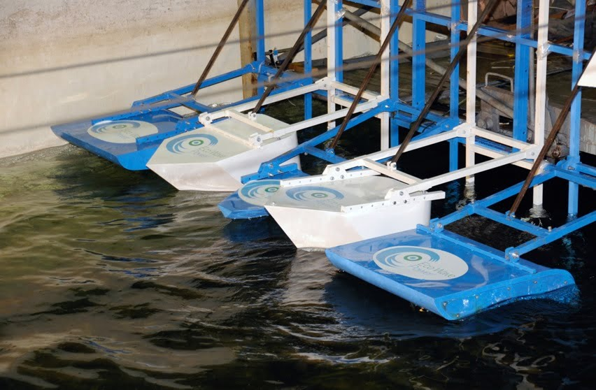 Eco Wave Power. Photo via Eco Wave Power's Facebook Page