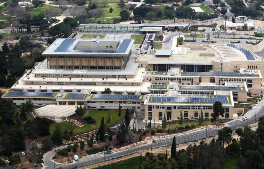 Knesset - solar roof