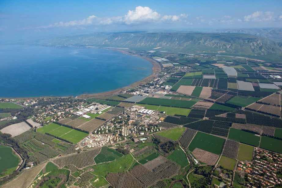 Sea of Galilee. Super Cooling WaterSorek Desalination Plant, Israel. Photo by Joby Elliott, IDE