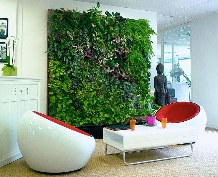 Vertical Gardens Have Become A Growing Trend Around The World With A  Variety Of Companies Offering Green Wall Installations: GSky, Green Over  Grey, ...