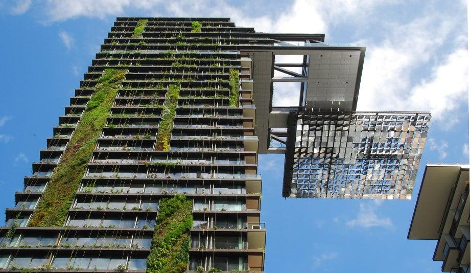 Vertical Garden in Sydney. Courtesy