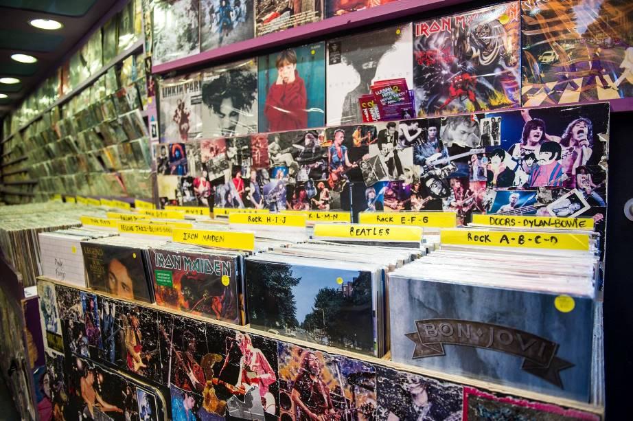 Camden Market - record store
