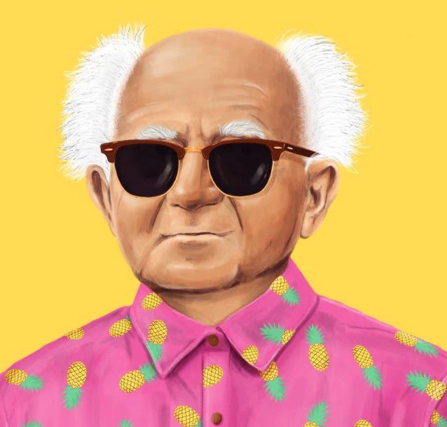 David Ben Gurion by artist Amit Shimoni