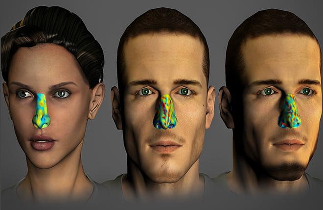 The olfactory fingerprint