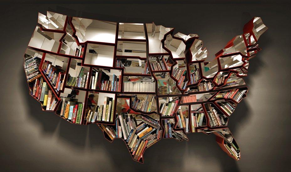Bookshelf by Ron Arad. Courtesy