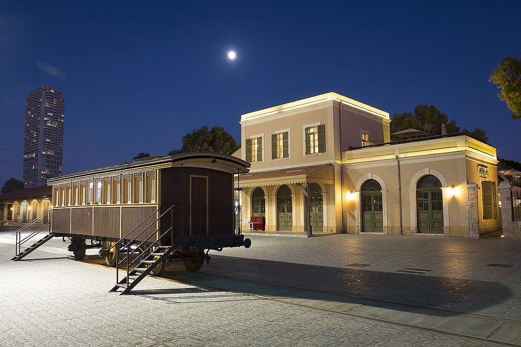 The Old Jaffa Railway Station
