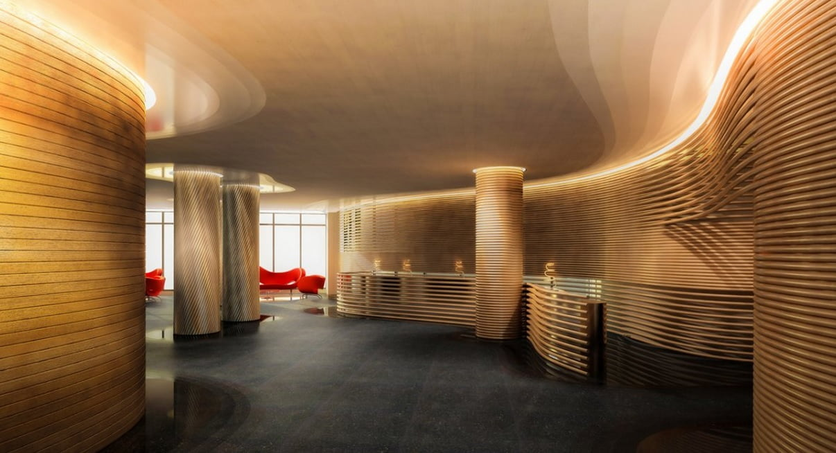 Watergate Hotel in Washington DC, redesigned by Ron Arad. Courtesy