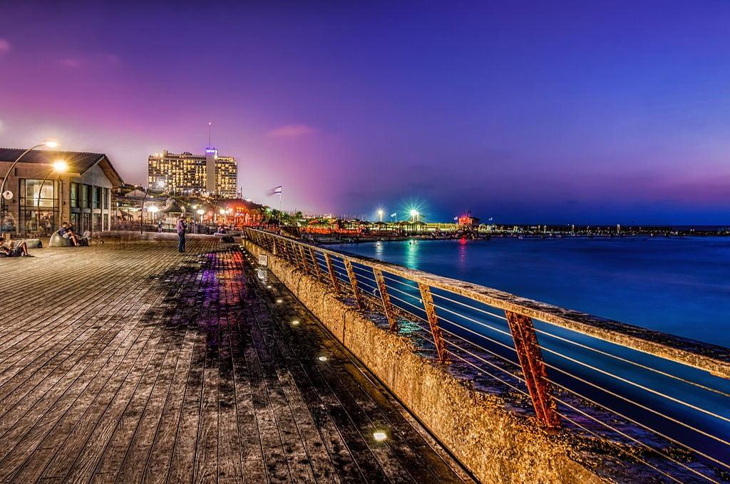 Port of Tel Aviv via Yderovan/Wikipedia Commons