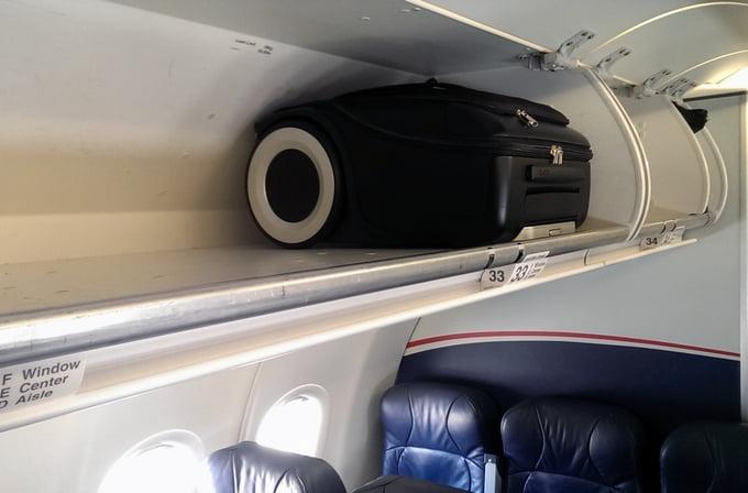 G-RO Carry-On Luggage. Courtesy