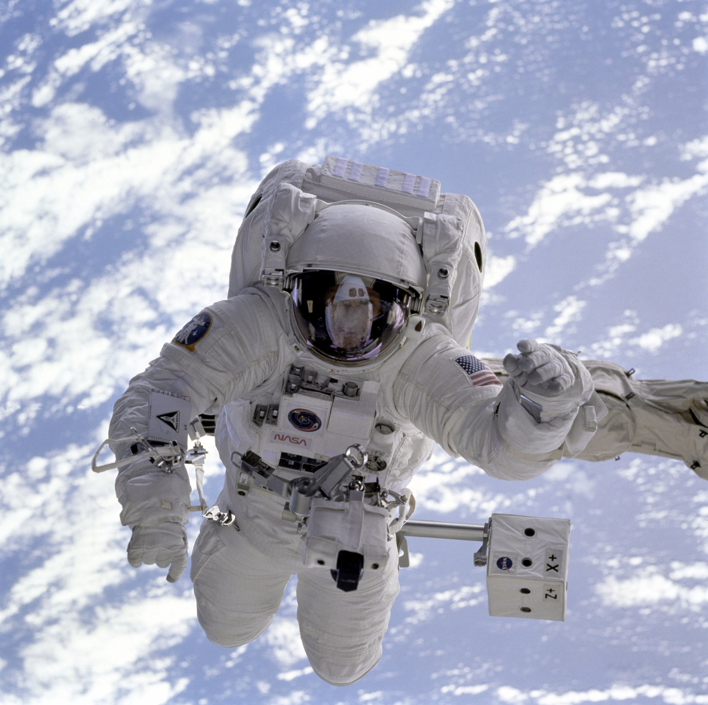 Astronaut. Photo by United States Air Force