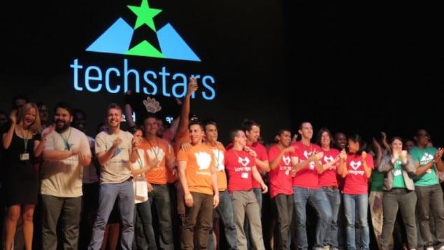 Techstar's Demo Day event for start-ups, September 17, 2015. Courtesy