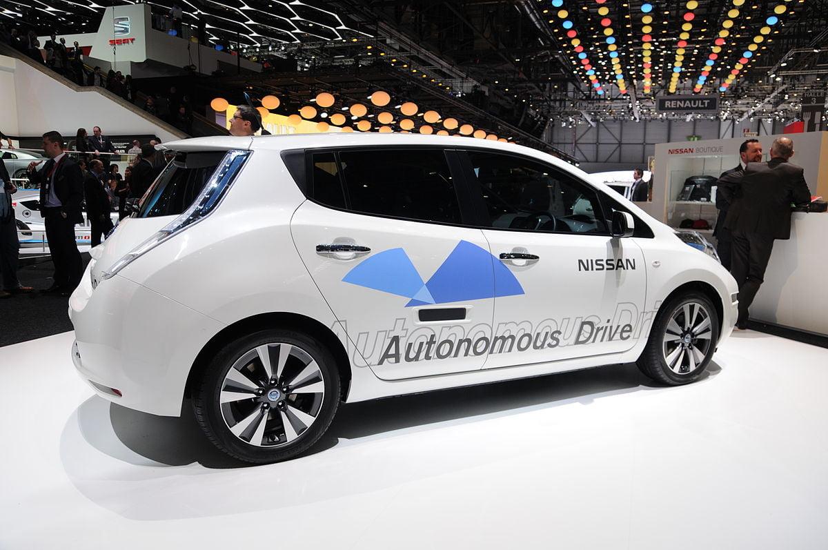 Nissan self driving car Geneva_Motor_Show_1186