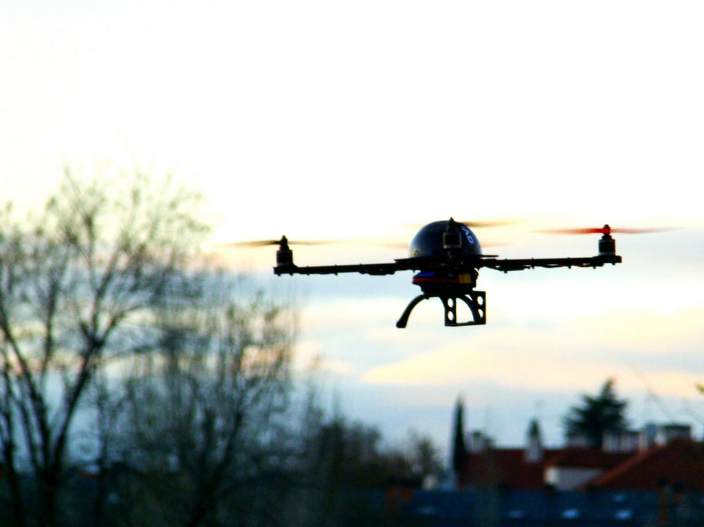 Flying Drone via David Rodriguez Martin/Flickr