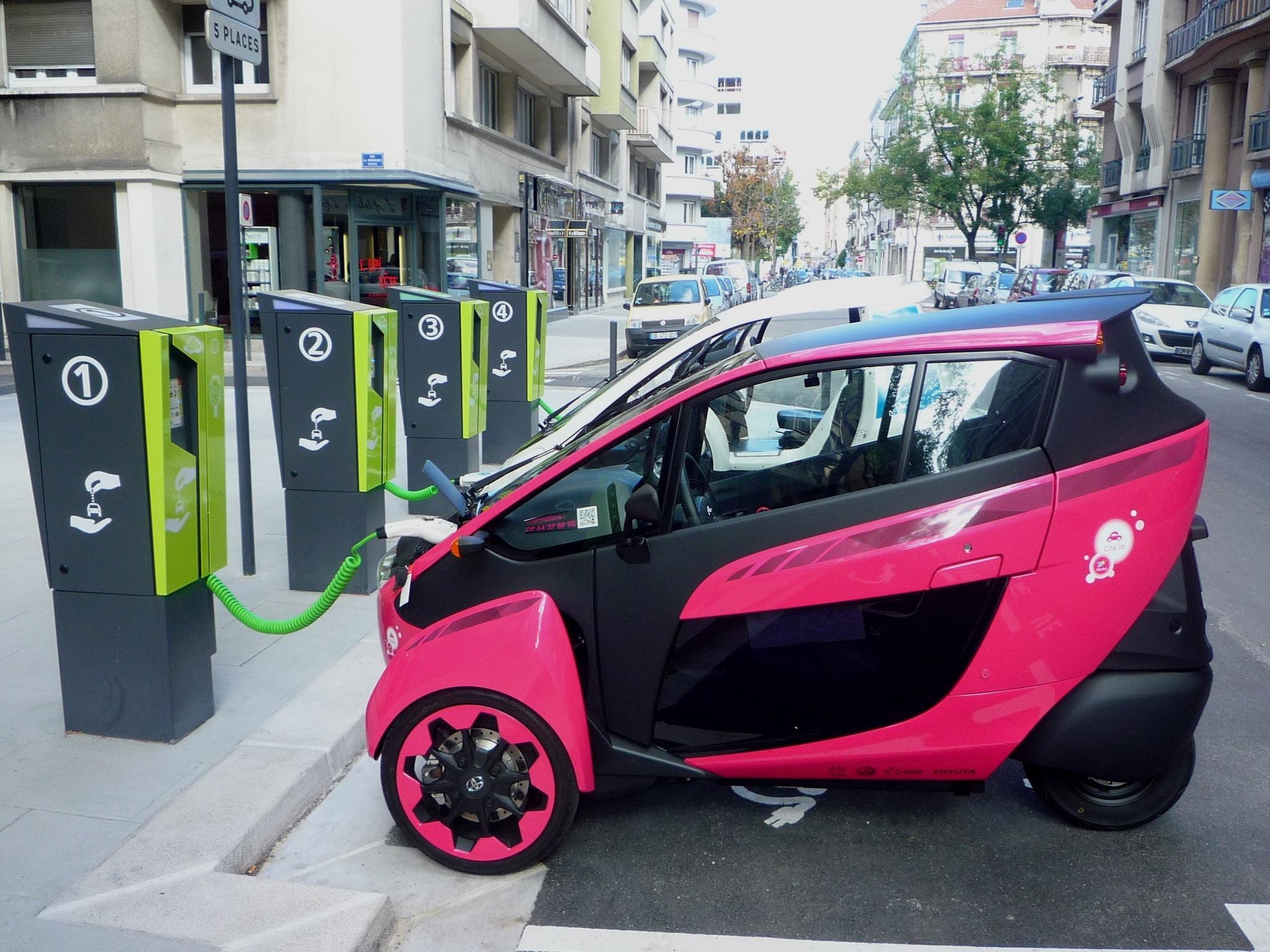 toyota electric car