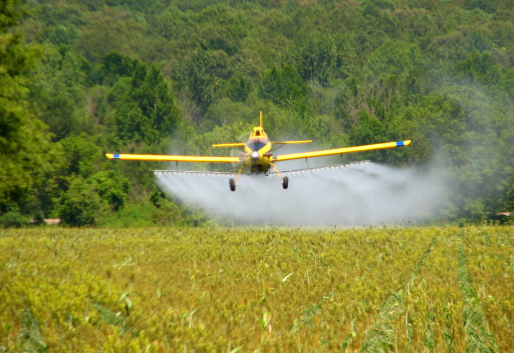 crop duster agri pesticides