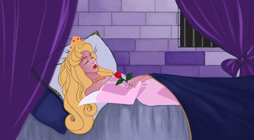Sleeping Beauty viaJenc/Flickr