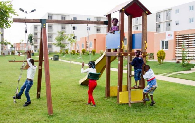 Kora Housing in Angola, funded by Vital Capital. Courtesy