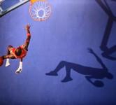 michael jordan slam dunk basketball