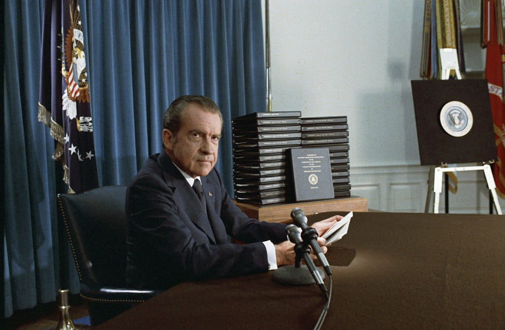 Nixon via National Archieves and Records Administration
