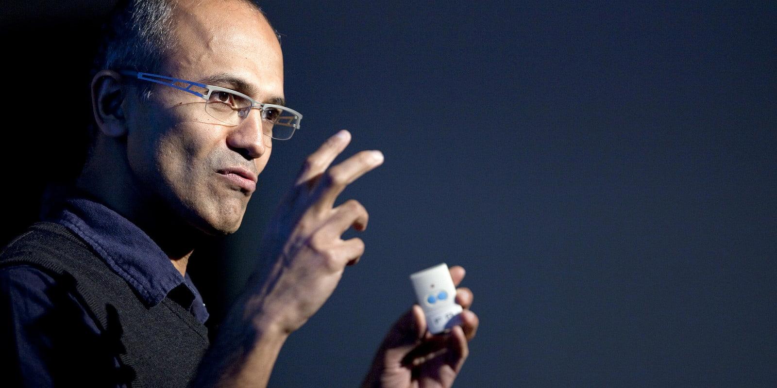 Microsoft CEO Satya Nadella via Johannes Marliem/Flickr