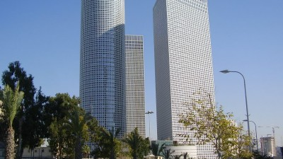 Azrieli Towers in Tel Aviv