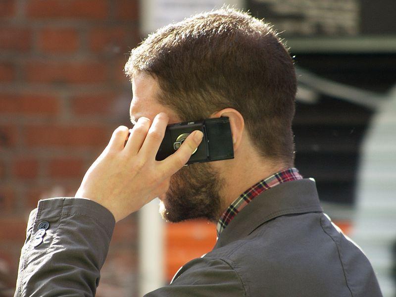 Man talking Smartphone via Tim Parkinson/Flcikr