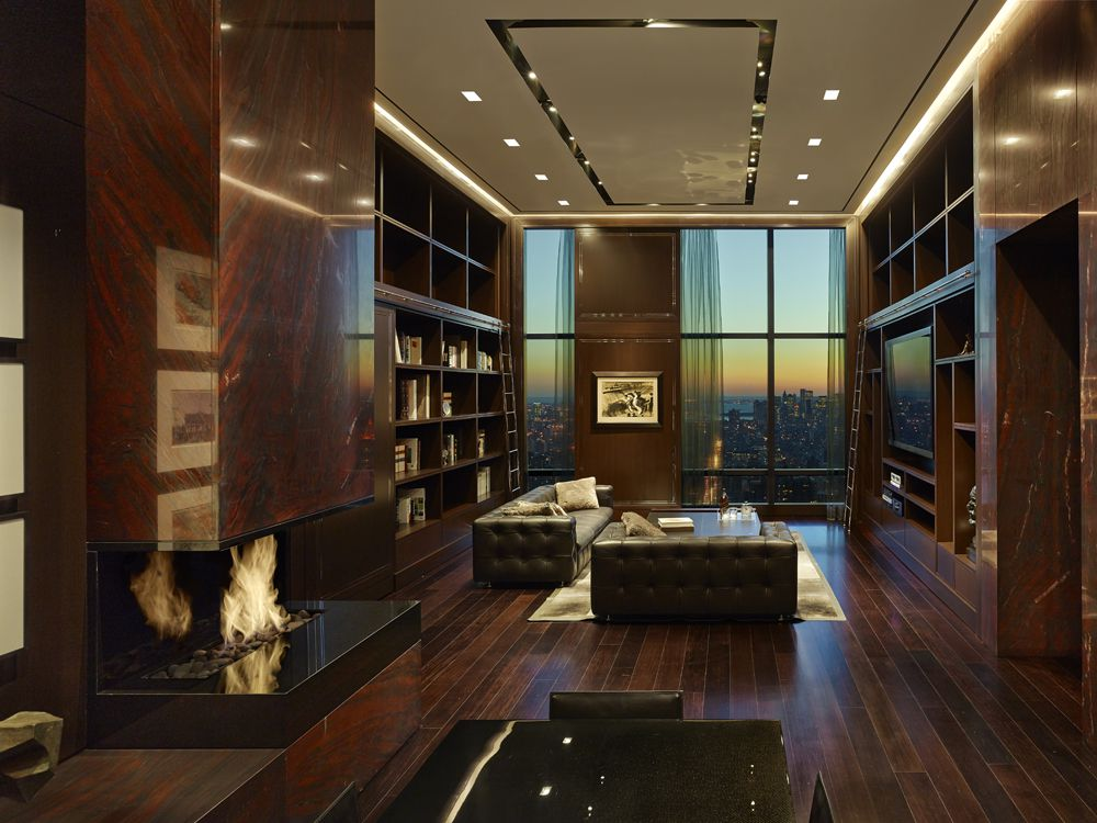 The penthouse at the Trump World Tower in New York. Courtesy of ODA