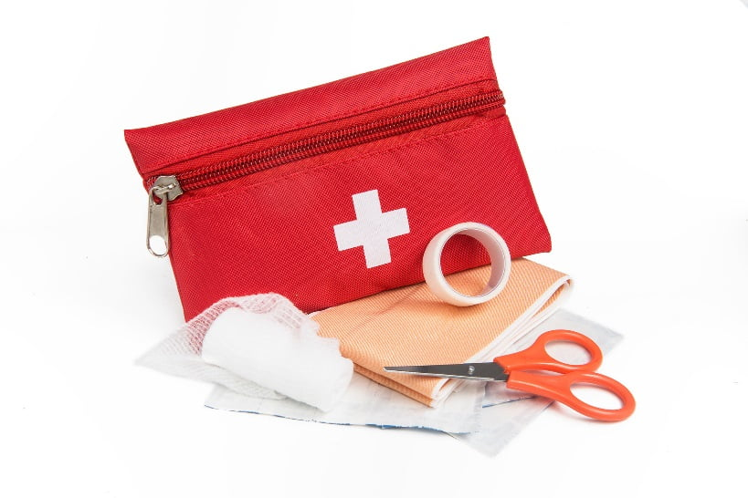 First Aid Kit. Photo by DLG Images