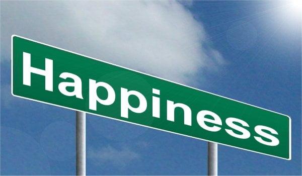 Happiness Sign via Pixabay