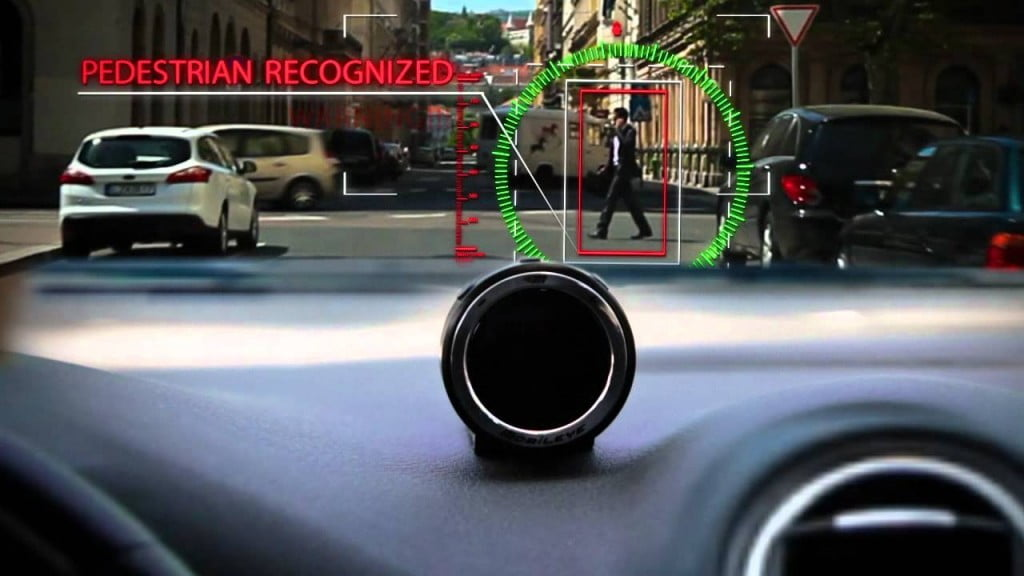 mobileye pedestrian. Courtesy of Mobileye