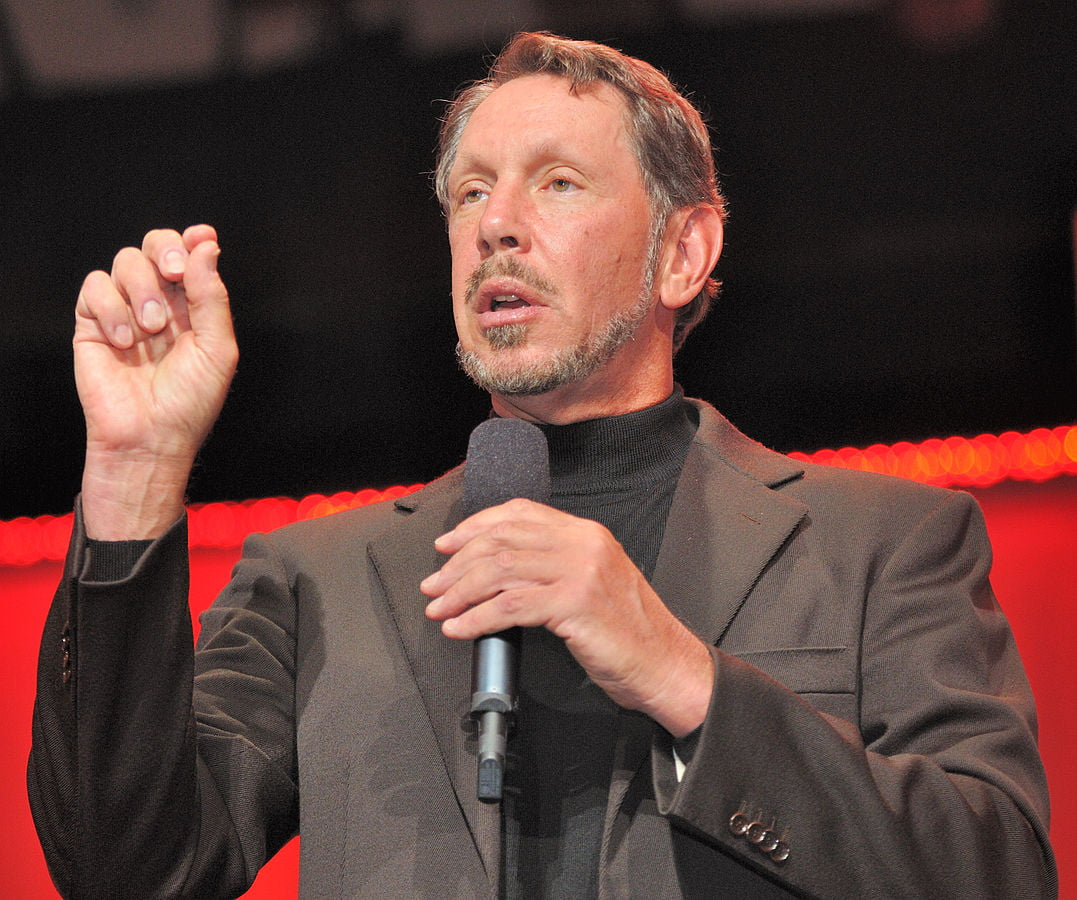Larry Ellison, co-founder of Oracle