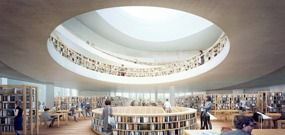 National Library of Israel. Courtesy of Herzog & de Meuron