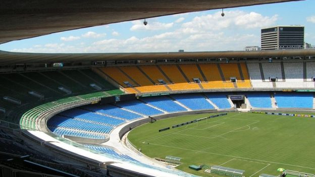 Maracanã Stadium, site of the Rio 2016 Olympics opening and closing ceremonies