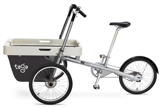 Bike-Stroller Taga: A Green Vehicle For 3 | Technology News