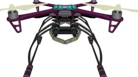 Arbe Robotics' Drone. Courtesy