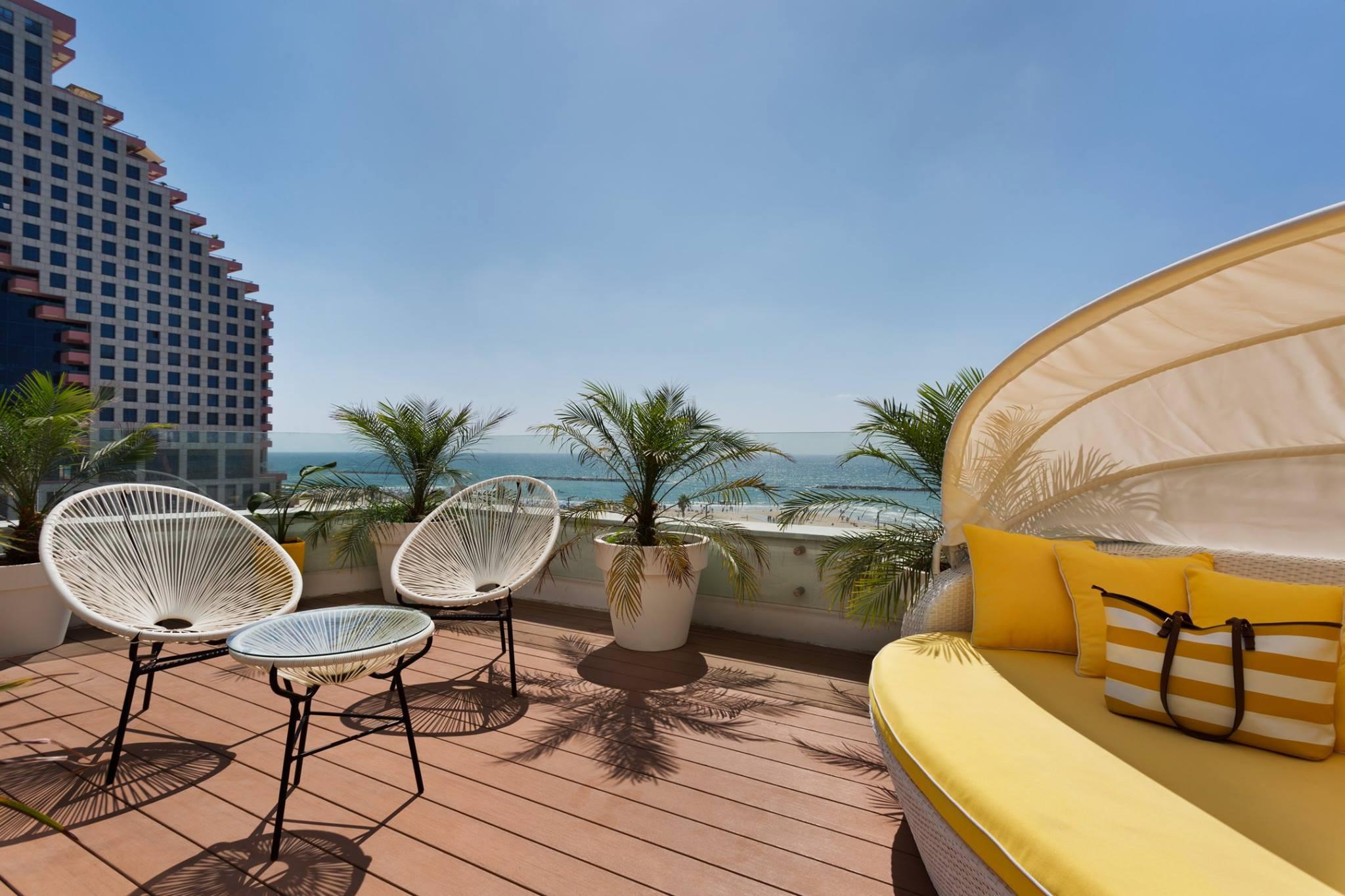 Brown Beach House - hotel in Tel Aviv.