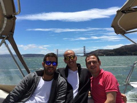 Earny co-founders: Dori Yona, Oded Vakrat, and Ilan Zerbib. Courtesy