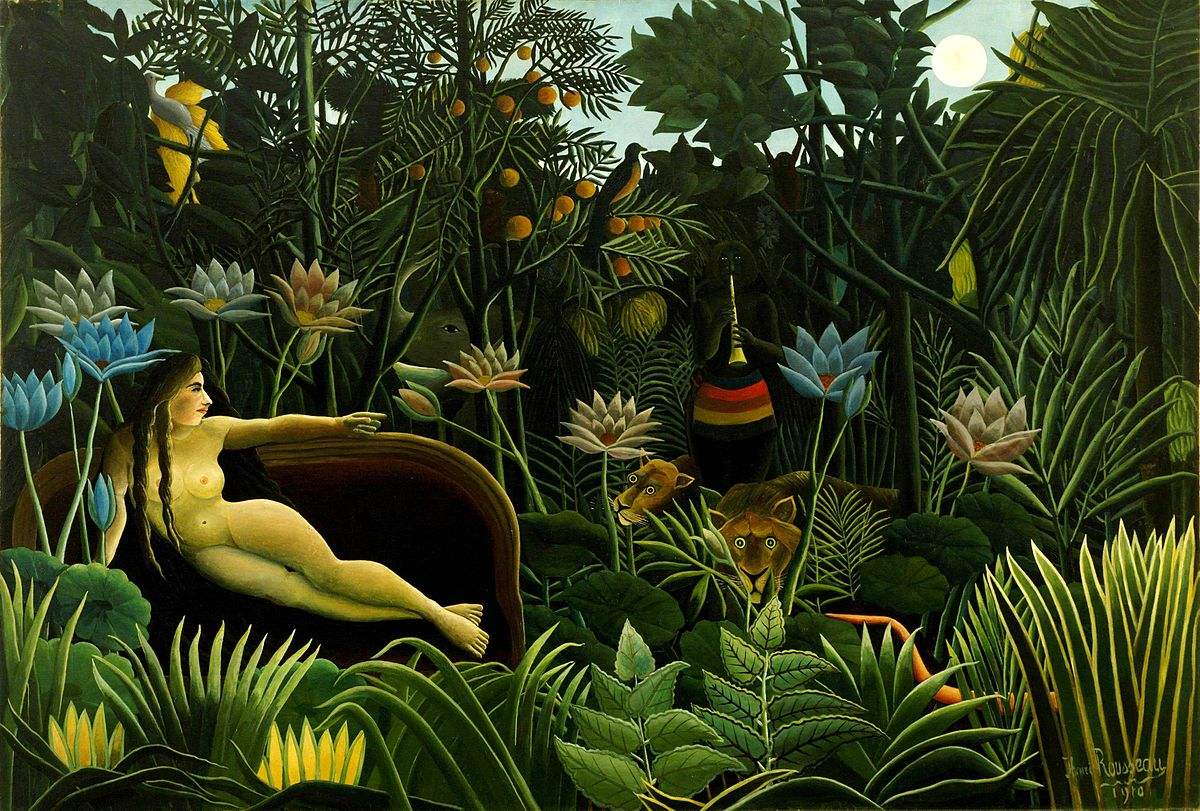 """The Dream"" by Henri Rousseau"