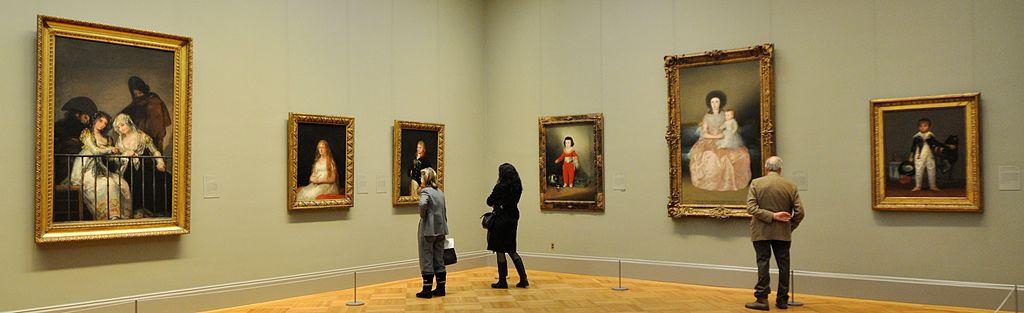 European Paintings at Metropolitan Museum of Art (NYC, USA). Photo via André Lage Freitas/WikiCommons