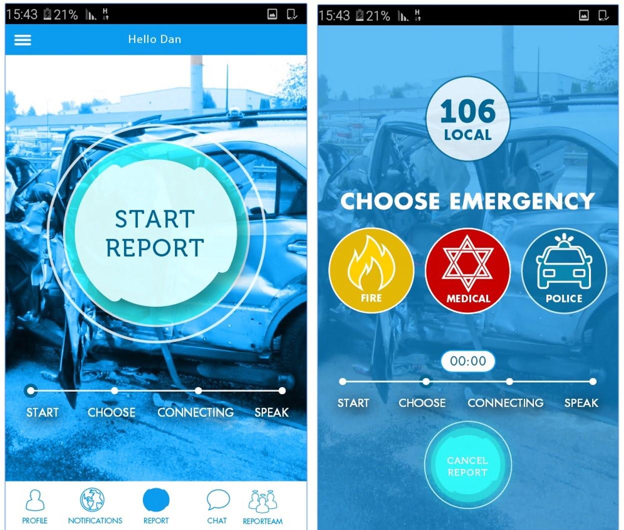 reporty app