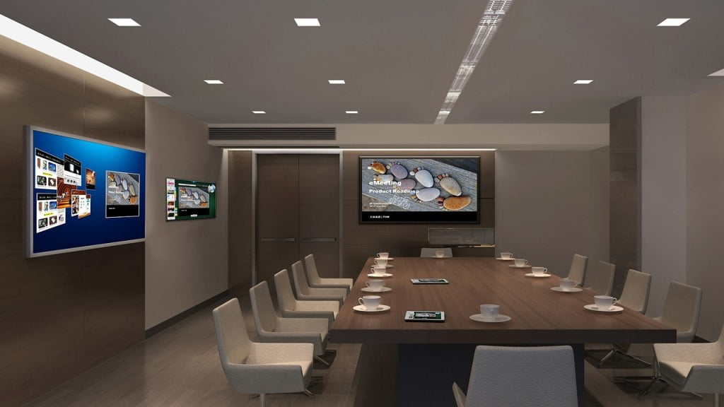 Video Conference Room. Courtesy