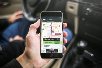 waze carpool google navigation. Courtesy of Waze
