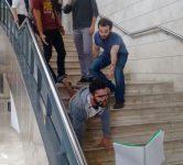 stairs, technion, mannequin challenge