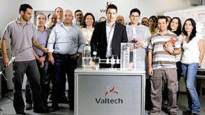 Amir Gross (center) and the Valtech Cardio team. Courtesy