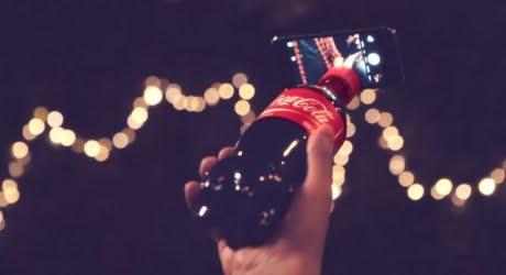 Coke Selfie Bottle. Courtesy