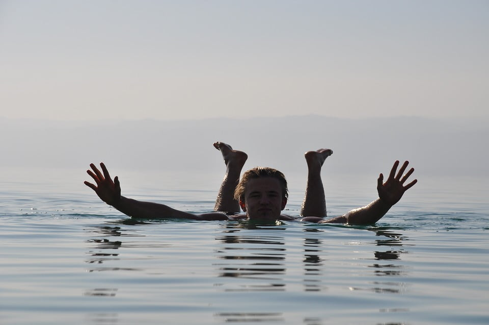 Dead Sea, float, Dead Sea Swim, swim